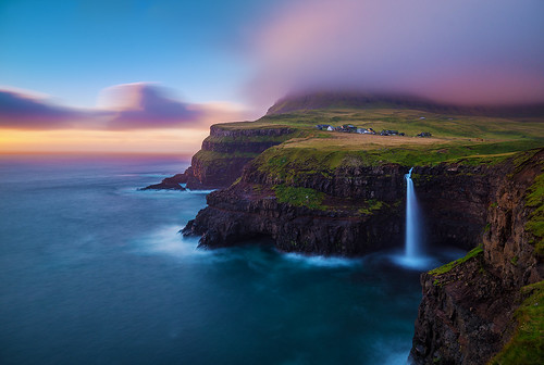 A Different World | Gásadalur, Faroe Islands