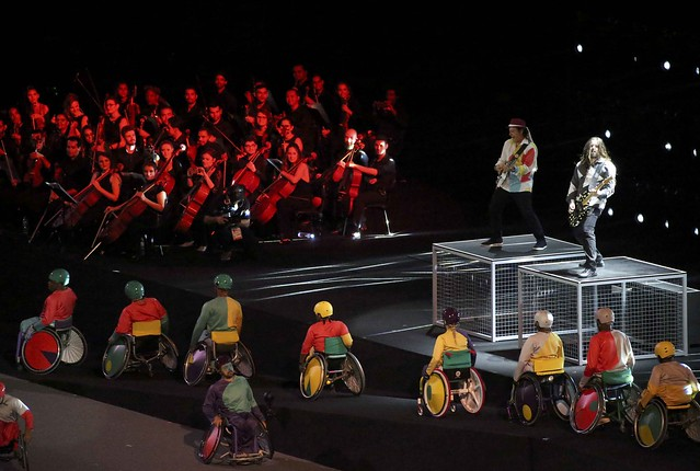 Closing ceremony of Rio Paralympics