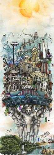 Ilustración BOD_Calida Fortaleza by washixart