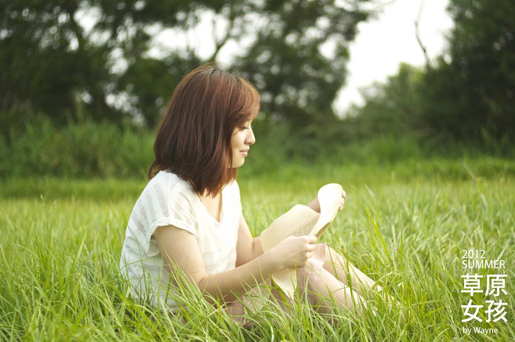 "2012summer...    ""草原女孩"""