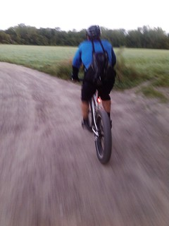 sick Mike on the fatbike