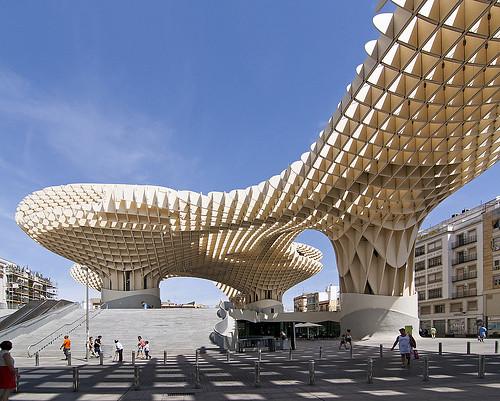 Metrosol Parasol, Plaza de la Encarnación, Sevilla, España