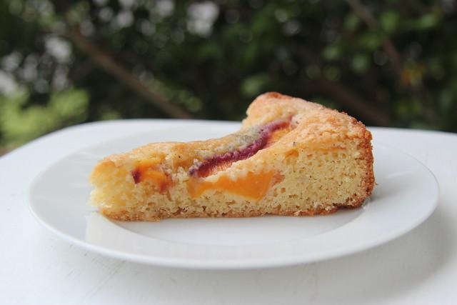 Nectarine Golden Cake - Gourmet Magazine