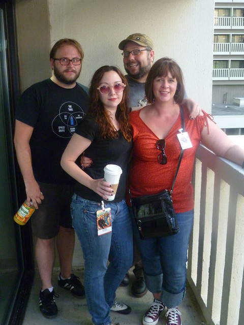 Teddy Bear, Parker, Katie & April