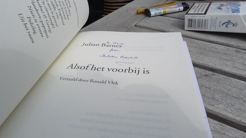 Manuscripta: Julian Barnes