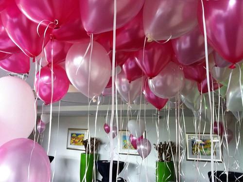Heliumballonnen Wapen van Marion Oostvoorne