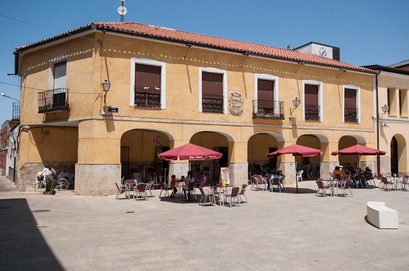 La Plaza Mayor de Villalpando
