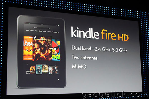 Amazon Kindle Paperwhite и Amazon Fire HD