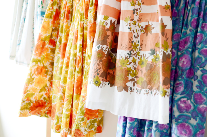 1950s and 1960s vintage sundresses b