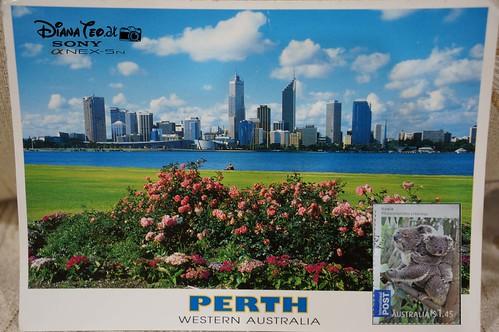 Postcard 03 - Australia Perth