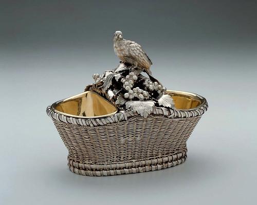 001- Salero en forma de doble cesta-1762-63-Antoine-Sebastian Durand-Francia-© 2012 Museum of Fine Arts Boston