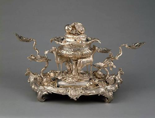 014- Centro de mesa- Epergne-1760-John Parker-Inglaterra-© 2012 Museum of Fine Arts Boston