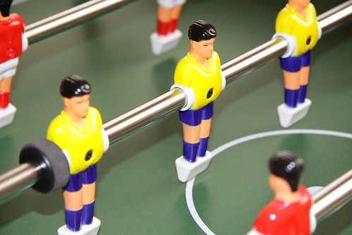 Foosball at Zfort Group Office (2010)