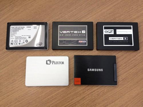 最新SSD 5機種