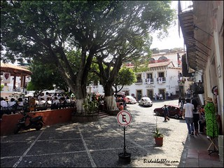 A plaza in Taxco