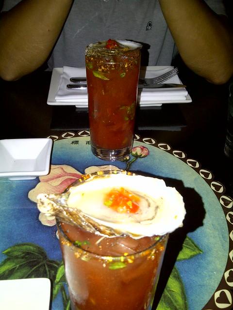 Oyster Caesar