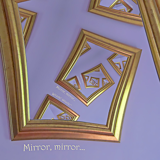 mirror mirror definition meaning