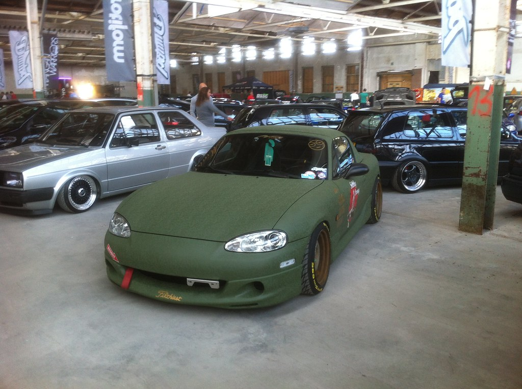 supercharged miata @ dumpd 2012