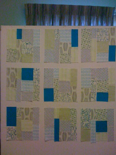 Low Volume Tiles Quilt Layout