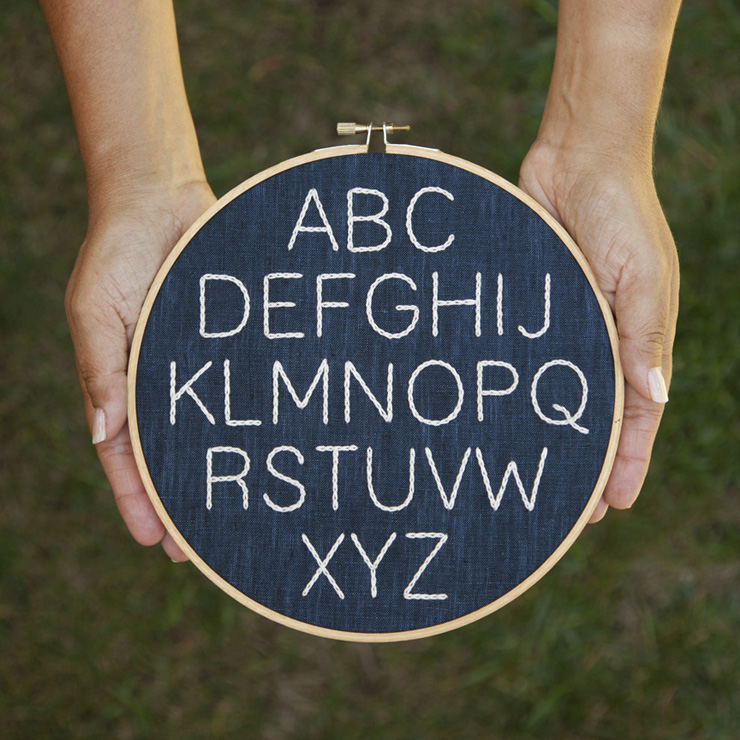 Alphabet Embroidery