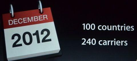 iPhone 5 в декабре