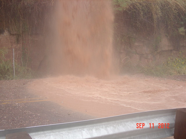 SR 264 road and shoulder washout