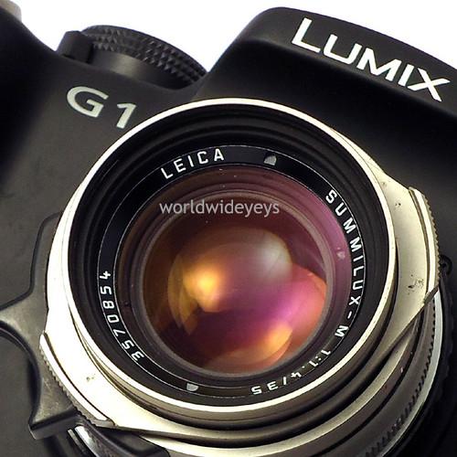 ルミックスG1, ライカ・ズミルックスM 35mm F1.4 チタン