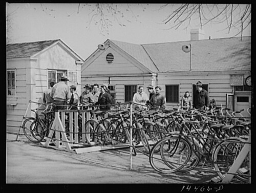 Washington DC Tidal Basin Bike Rental (1941)