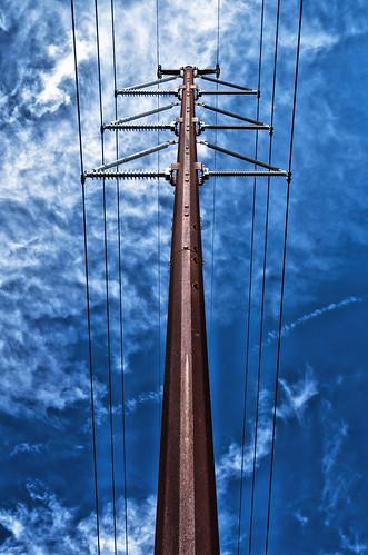 無料写真素材, 建築物・町並み, 電柱