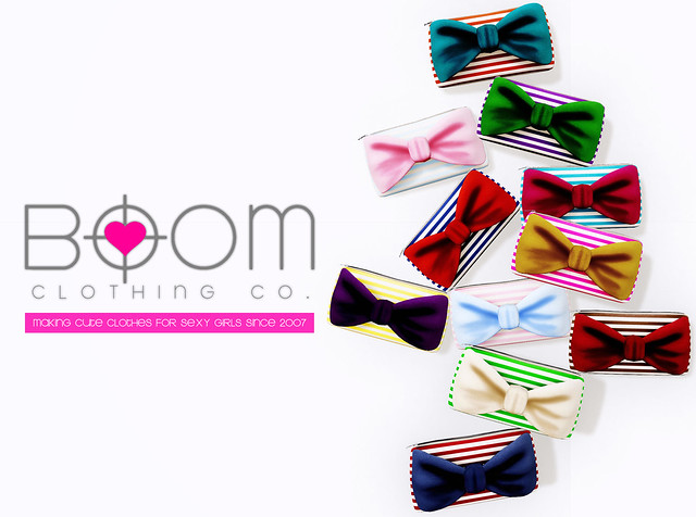 *BOOM* Carnival Bow Clutch for The Arcade