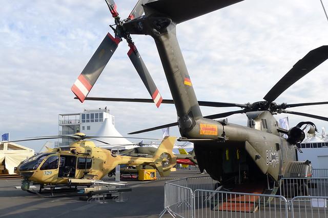 EC 635 und CH-53