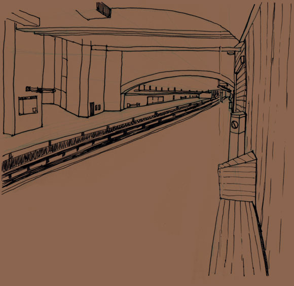 DeCastelnau metro station