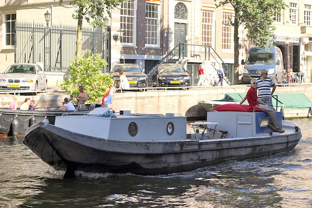 Boat on Herengracht