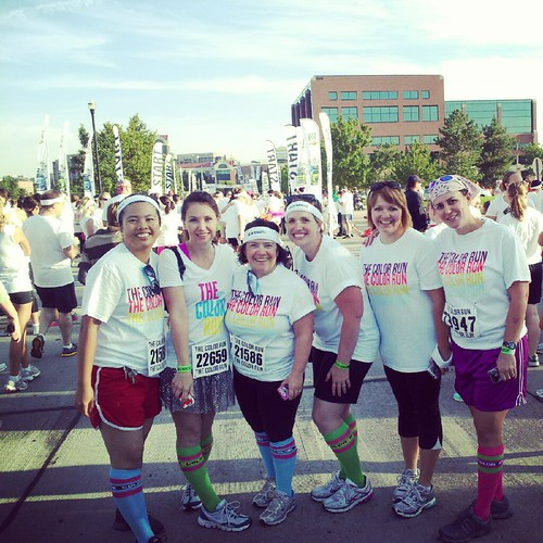 SLMQG represents at the Color Run 2012