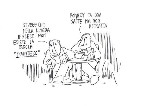 La gaffe di Romney by Livio Bonino