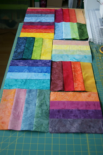 Jelly-Rainbow Streifenblöcke