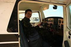 Oscar Mackay Goes Flying