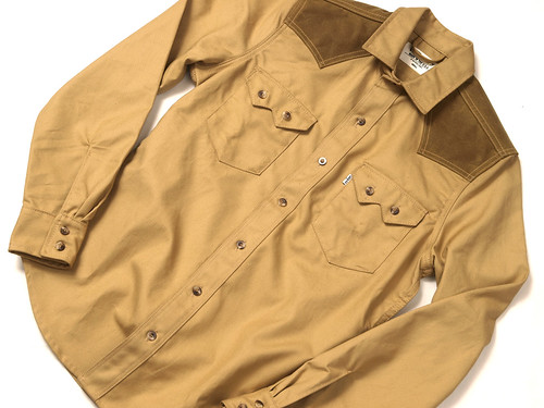 Levi's Workwear by Filson / Tin Cloth Sawtooth Western Shirt