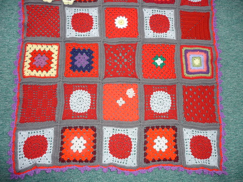 Close up of 'SIBOLETTES' Squares!
