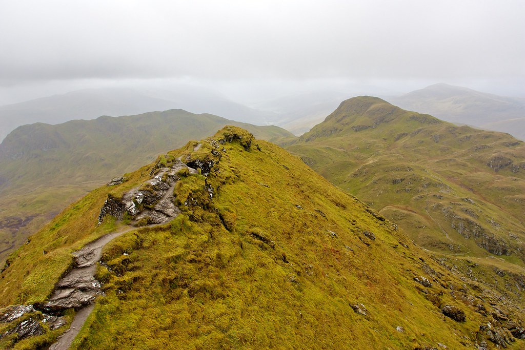 The Tarmachan Ridge from Meall Garbh