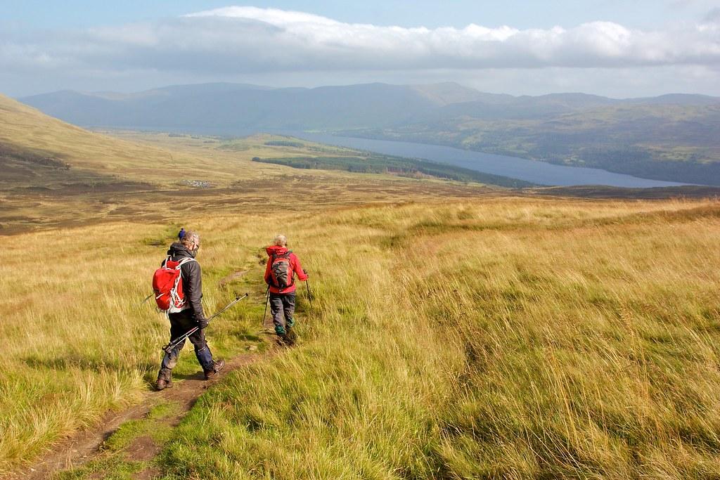 Above Loch Tay