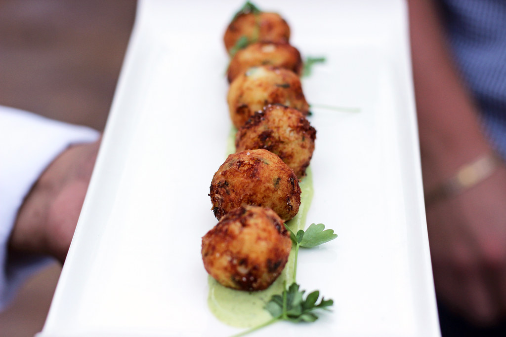 bacalao fritters