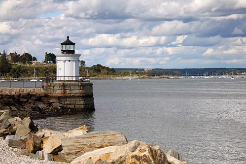 Portland Breakwater Lighthouse by nelights