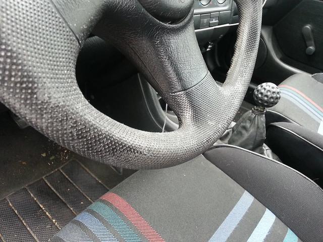 Vwvortex Com Restoring A Rubber Vinyl Steering Wheel