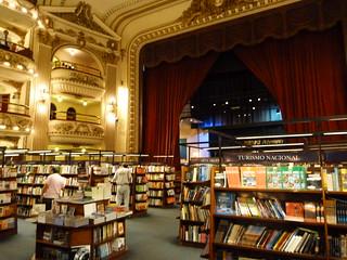 Imagen de la Librería El Ateneo Grand Splendid de Buenos Aires