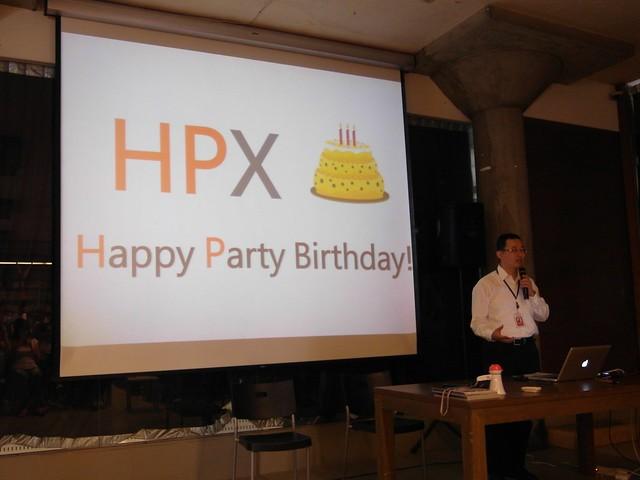 HPX,生日快樂!