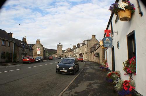 Street Scene, Dufftown