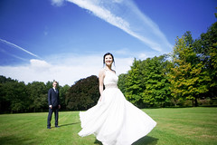 [Free Images] People, Couple, Events, Wedding, Wedding Dress ID:201210041800