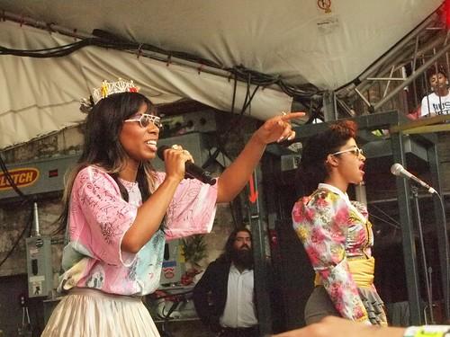 Santigold at the SPIN party at SXSW
