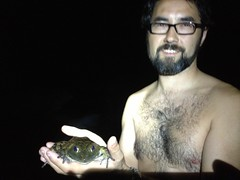 Kirk and the Giant Bullfrog
